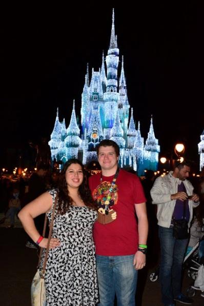 Britt and Chaz Castle Lights