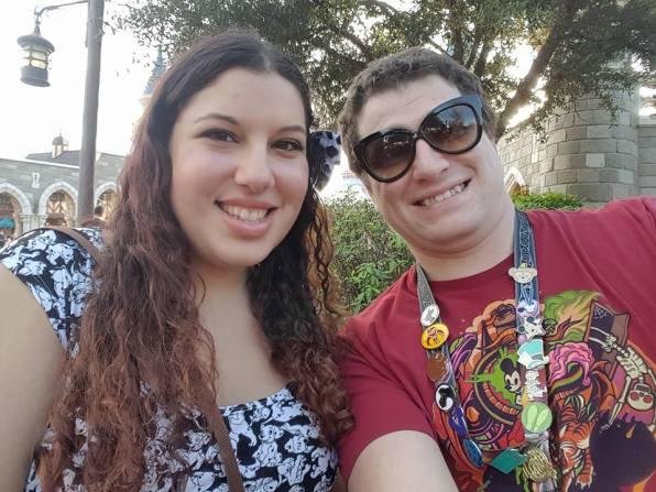 Britt and Chaz selfie