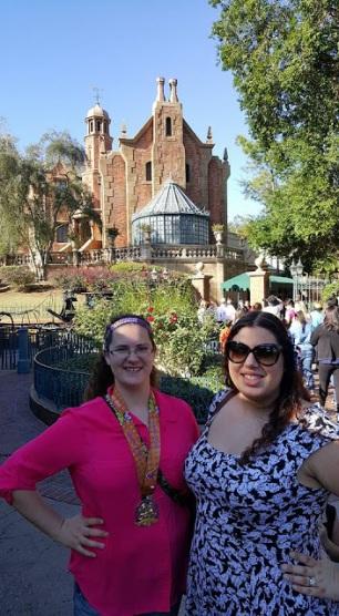 Sarah P and Britt Haunted Mansion