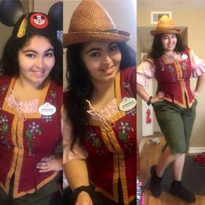 Disney College Program Quick Service Food & Beverage Role Interview with Adriana Yvonne Vega, Magic Kingdom Stands East,'16