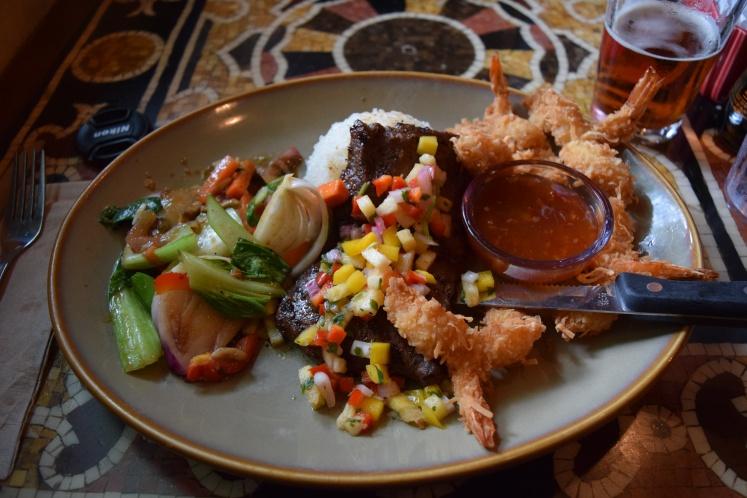 Yak and Yeti_steak and shrimp_2016_Brittany DiCologero